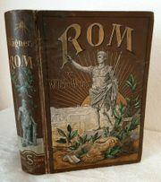 Antik 1899 Buch ROM Geschichte