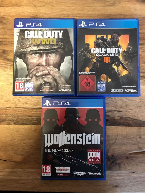 PS4 Spiele CoD