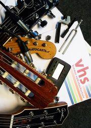 VHS-Gitarrenkurse LAST MINUTE Jetzt Restplätze