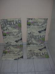 2 Sitzauflagen für Gartenstühle