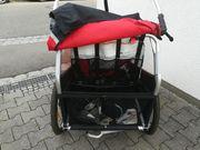 Burley Kinderfahrrad Anhänger 2-Sitzer