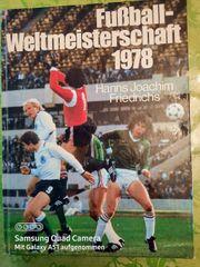 Buch Fußball-Wetltmeisterschaft 1978 v Hanns