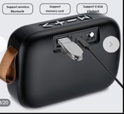 Tragbarer Buetooth-Stereo-SD-Karten-FM-Lautsprecher für Smartphone-Tablet-Laptop