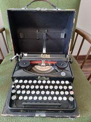 Alte Schreibmaschine Seidel und Naumann