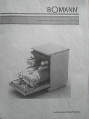 Geschirrspüler Bomann GSP 850