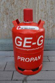 Propangas Flasche rot Pfandflasche 11
