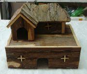 Holzvilla für Nager
