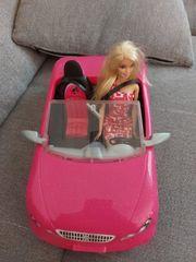 Barbie mit Auto