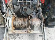 Getriebeseilwinde für Fixaufbau