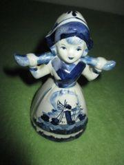 Porzellanfigur Holländische Wasserträgerin