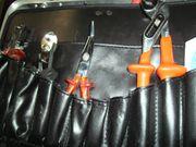 Werkzeugkoffer für Elektriker