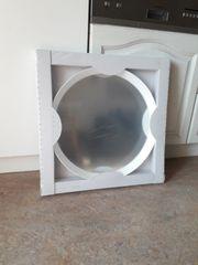 Spiegel Ikea rund weiß neu