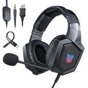 K8 black PS4 Gaming Headset