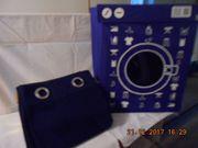 Wäschebox blau weis