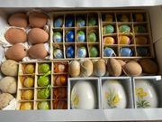 Ostereier Deko Ton Keramik