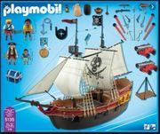 Großes Piratenschiff Rotrock-Kanonensegler