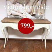 Wandtisch Wandkonsole Sideboard Hartholz B