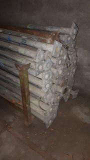 Bausprieß Baustütze Stahlstüze verzinkt unverzinkt