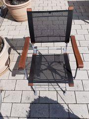 4 Gartenstühle klappbar
