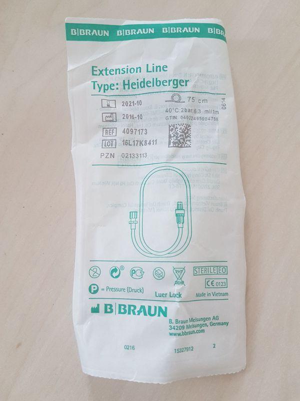 16 Stück Extension Line Type