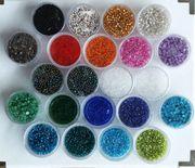 Rocailles Perlen 1mm sehr klein