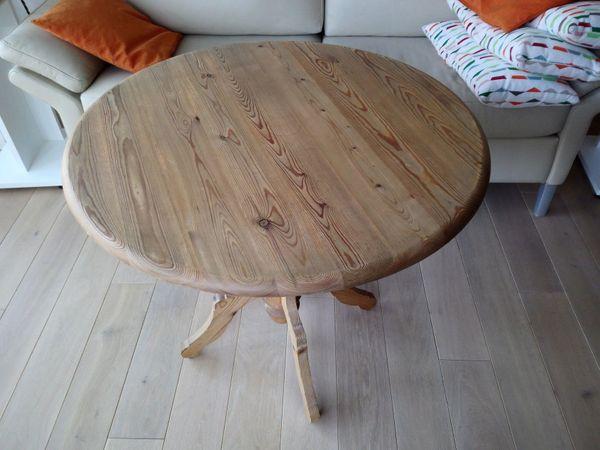 Kiefer-Vollholz-Tischchen im Landhausstil nur Abholung