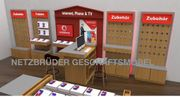 Ladenmöbel Handyladen Vodafone Telekom u