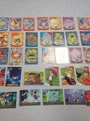 41 Sammelkarten Pokemon 90iger Jahre