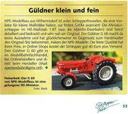 Modell-Traktor Güldner G40 od G60