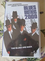 ORIGINAL - VHS - SPIELFILM BLUES BROTHERS 2000