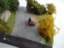 Diorama Motorrad Beiwagen Gespann Harley: Kleinanzeigen aus Niederviehbach - Rubrik RC-Modelle, Modellbau