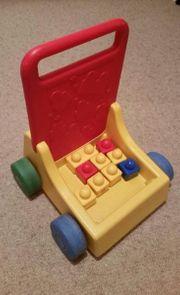 Lauflernwagen mit Steinen Lego Duplo