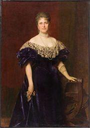 Ölgemälde Porträt Erzherzogin Maria Josepha