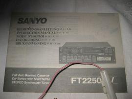 Oldtimer Autoradio Radio Sanyo FT2250MV: Kleinanzeigen aus Birkenheide Feuerberg - Rubrik Oldtimer, Youngtimer