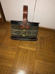 Trachtenhenkeltasche oval