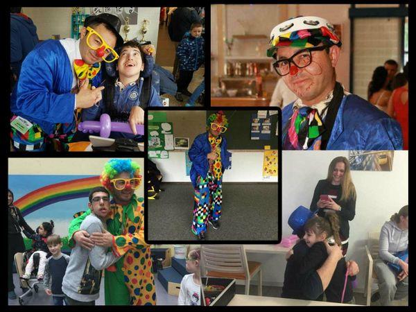 Clown für Geburstagsfeier