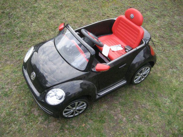 VW Beetle Käfer 6V Elektro-Kinderauto