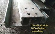 Stahlträger verzinkt U Träger U