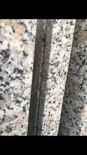 Zu verschenken Granitmarmorplatten