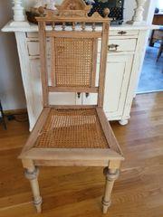 Antiker Stuhl aus der Gründerzeit