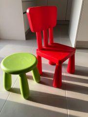 Kinderstuhl Hocker IKEA