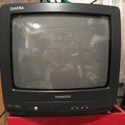 Tragbarer Thomson TV Retro ca