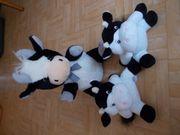 3 Kuscheltier Kühe 1 Groß