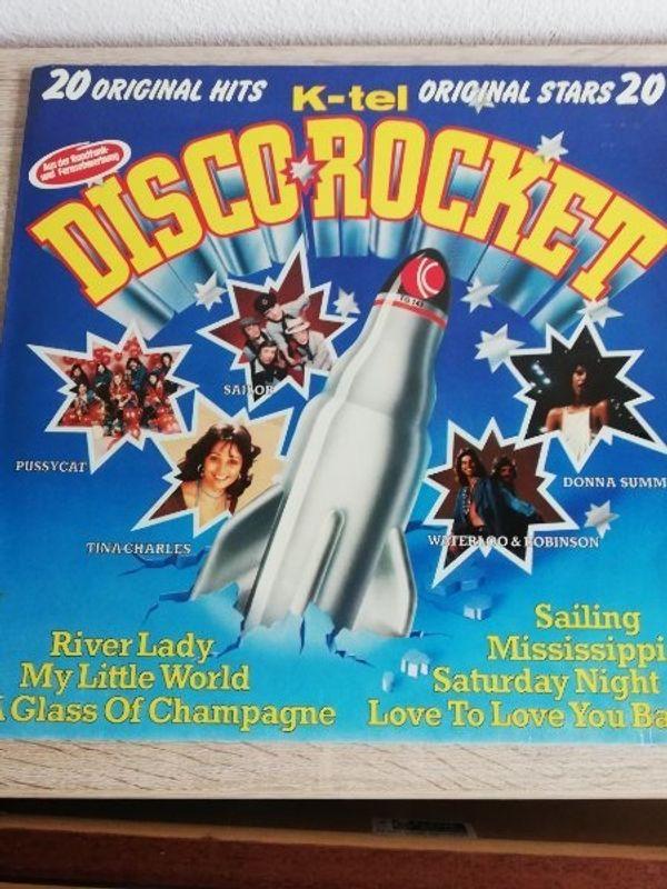 Disco Rocket LP von 1976