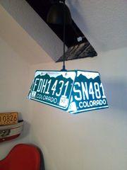 Lampe Billard US Plate Pool