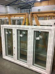 Kunststofffenster 180x130 3 flg Fenster