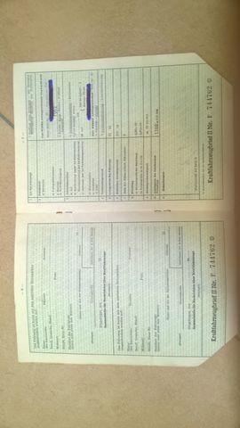 KFZ Brief Original NSU Fox: Kleinanzeigen aus Schönaich - Rubrik Oldtimer, Klassiker