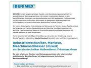 Industriemechaniker Monteur Maschinenschlosser m w