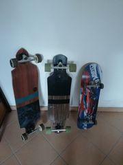 Longboard - Skateboard
