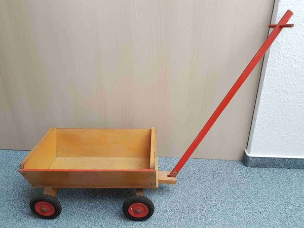 Bollerwagen Kinderspielzeug Massivholz